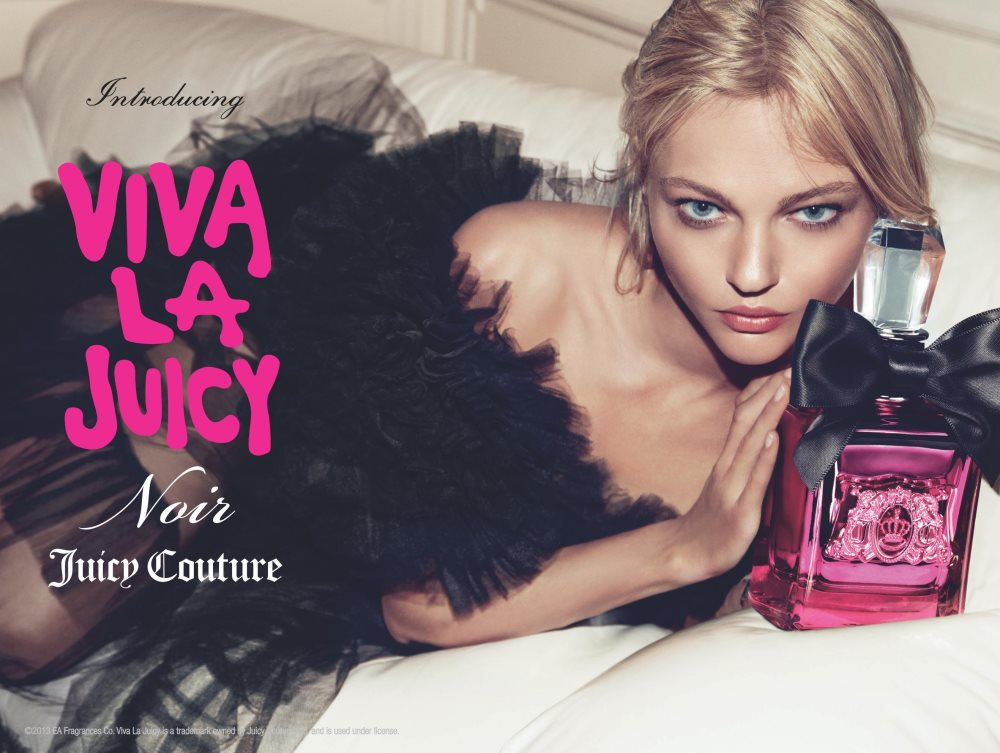 Sasha Pivovarova by Inez & Vinoodh for Viva La Juicy Noir Campaign