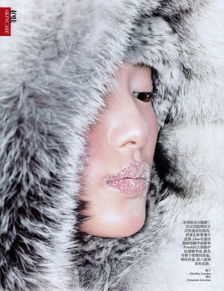 Shu Pei by Eric Maillet for Vogue China November 2013 (4)