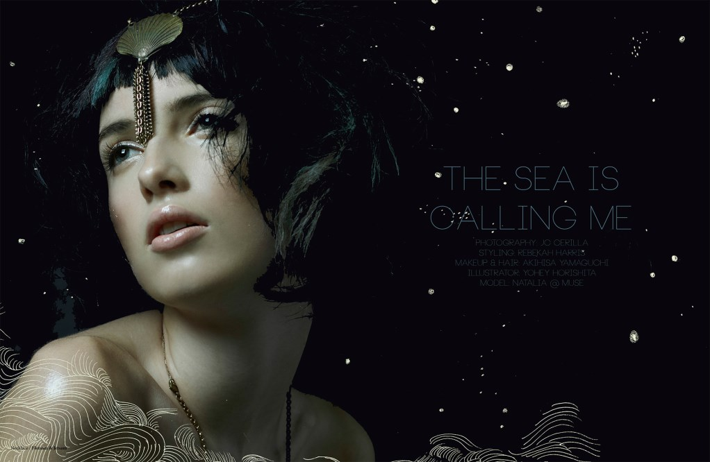 The Sea is Calling Me by JC Cerilla for pRize Magazine