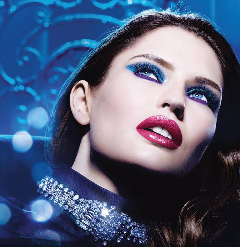 Bianca Balti for L'Oreal's Million Carats Holiday Line