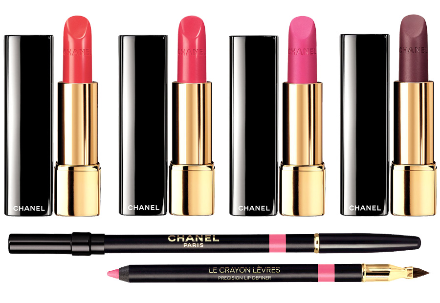Chanel-Spring-2014-lipstick_Chanel-Rouge-Allure-Melodieuse_Chanel-Rouge-Allure-Fougueuse_Cha