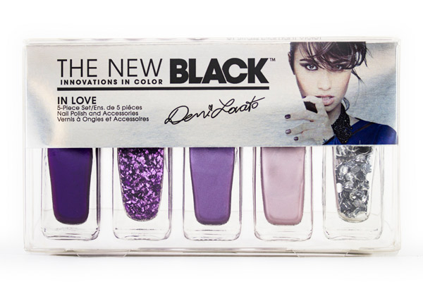 Demi Lovato X The New Black Nail Polish Collaboration