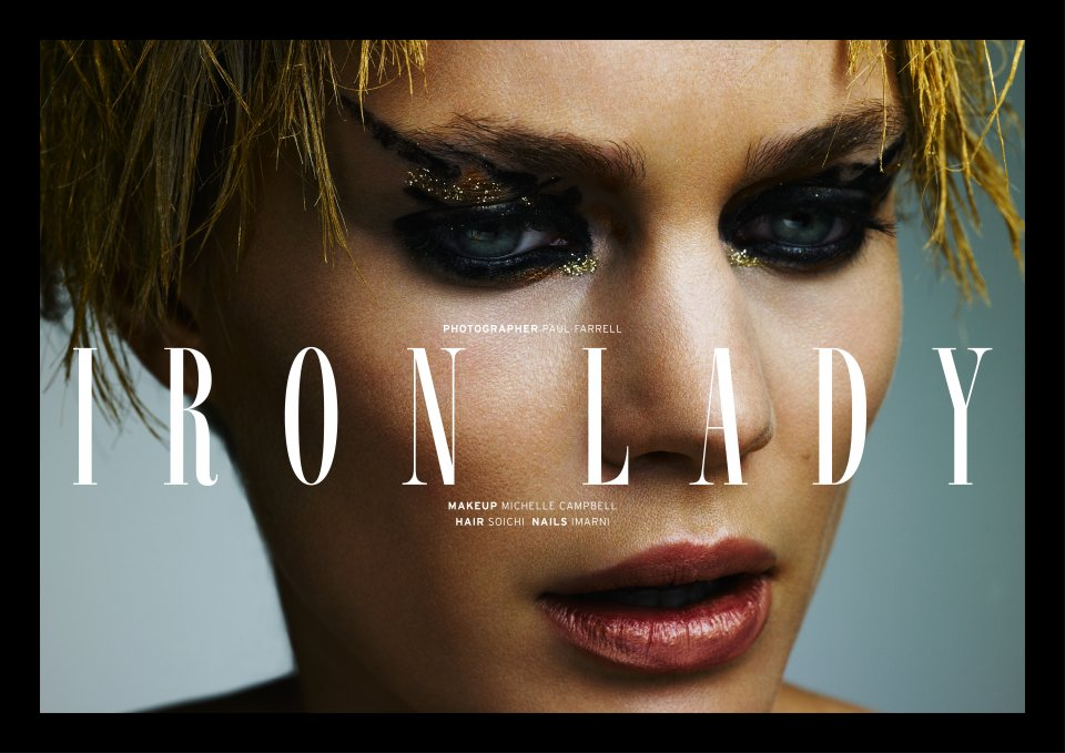 Iron Lady by Paul Farrell for Twenty6 Magazine