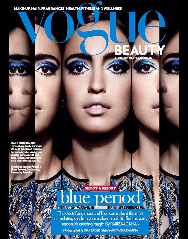 Blue Period by Dirk Bader for Vogue India December 2013
