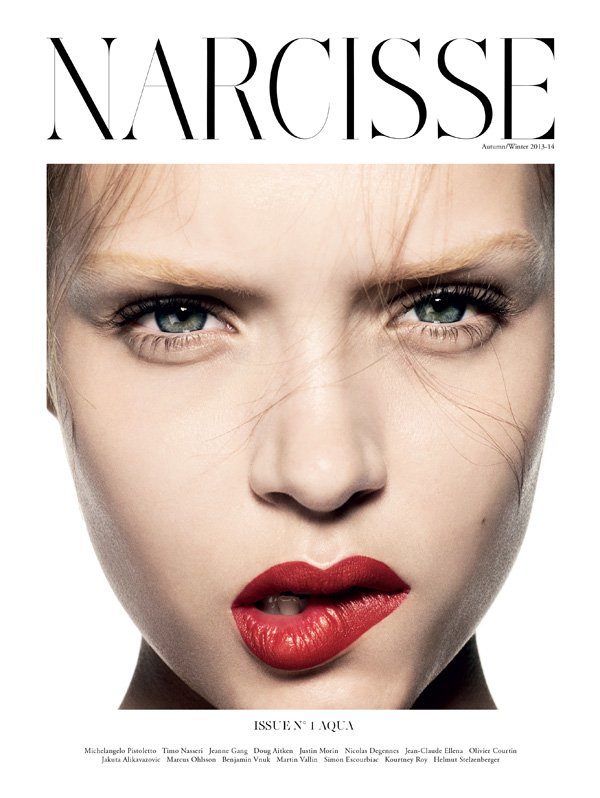 Josephine Skriver by Marcus Ohlsson for Narcisse Magazine