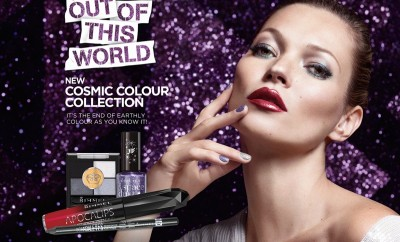 Kate Moss for Rimmel's Out Of This World Christmas 2013 Ad Campaign (1)