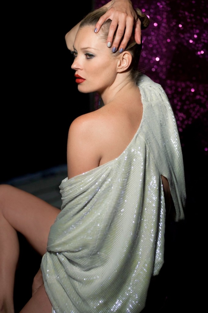 Kate Moss for Rimmel's Out Of This World Christmas 2013 Ad Campaign (2)