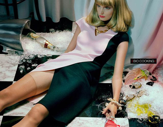 Miles Aldridge for Vogue Italia December 2013 (1)