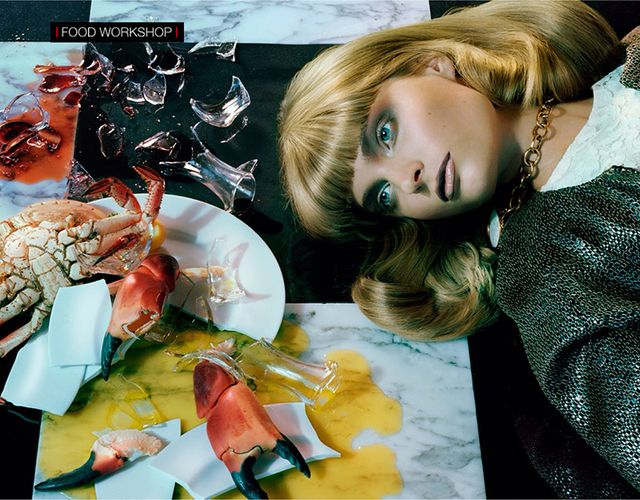 Miles Aldridge for Vogue Italia December 2013 (2)