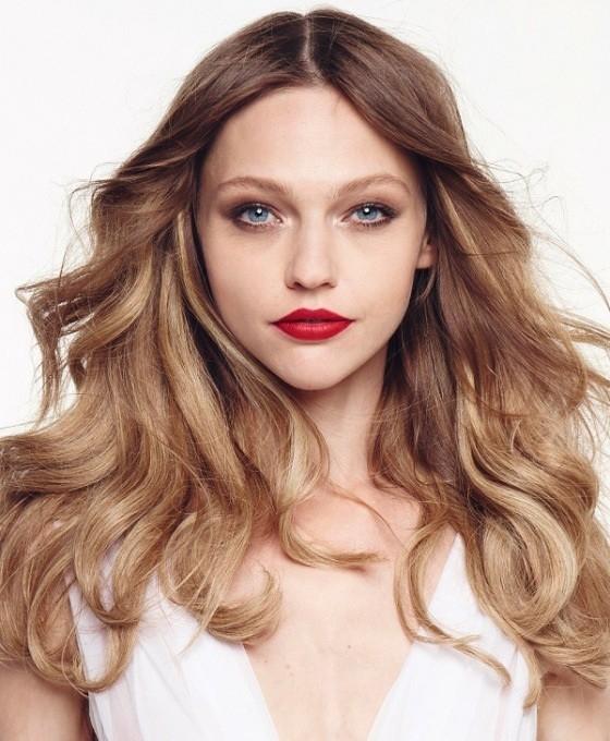 Sasha Pivovarova for Mon Rouge Lolita Lempicka Campaign by Dusan Reljin (3)