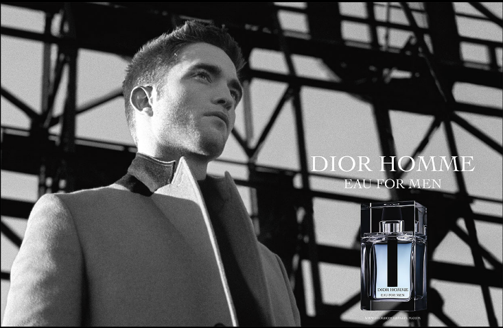 dior homme eau robert pattinson