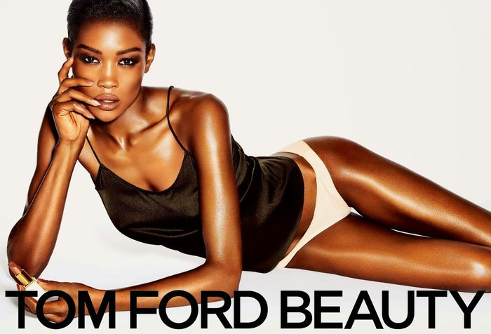 Betty Adewole for Tom Ford SS 2014 Campaign (1)