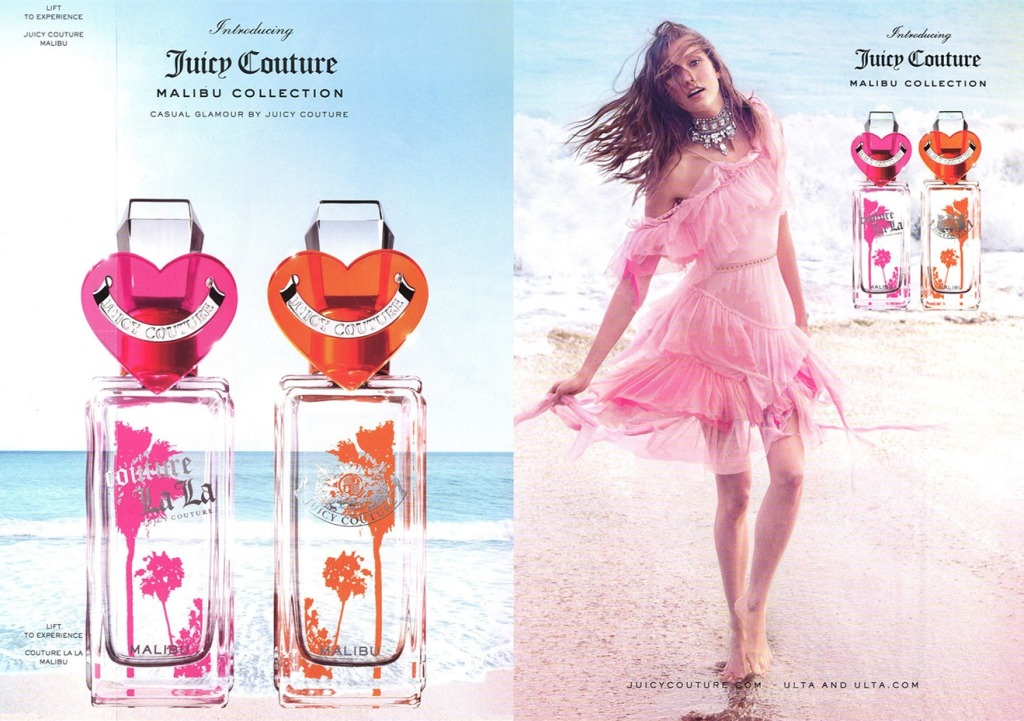 Karlie Kloss by Inez & Vinoodh for Juicy Couture La La Fragrance  (1)