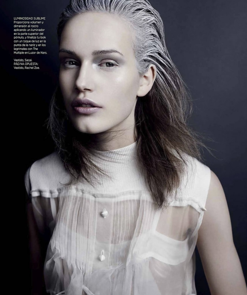 Karolina Waz by Tom Schirmacher for Harper's Bazaar Mexico February 2014 (5)