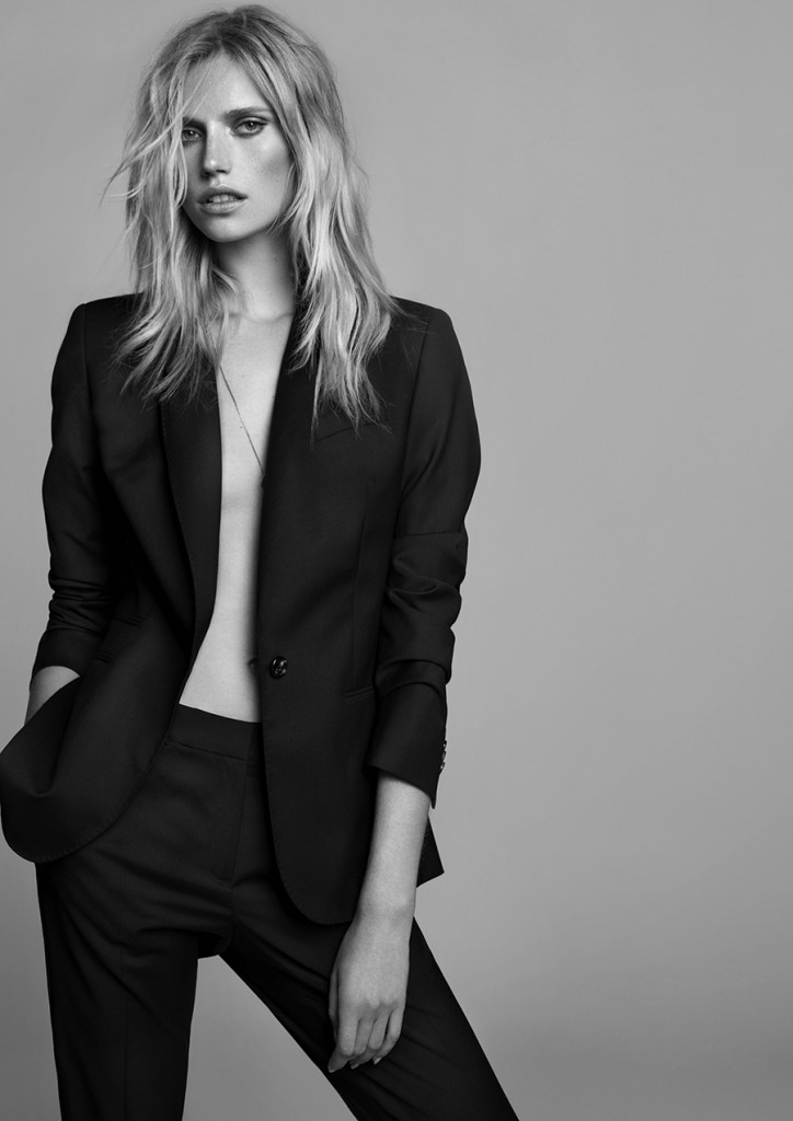 Cato Van Ee  for Massimo Dutti In Black (1)