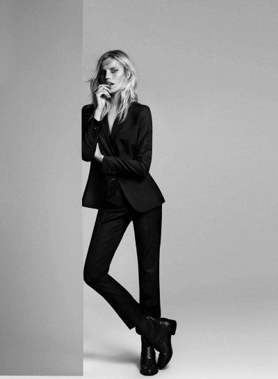 Cato Van Ee  for Massimo Dutti In Black (2)