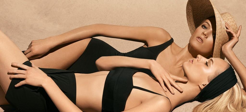 Daria Strokous for Diorskin Nude Tan 2014 Campaign