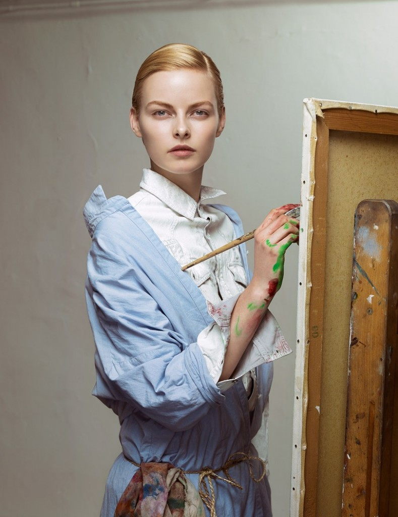 ERWIN OLAF STUDIES 'LES BEAUX ARTS' FOR VOGUE NETHERLANDS 2