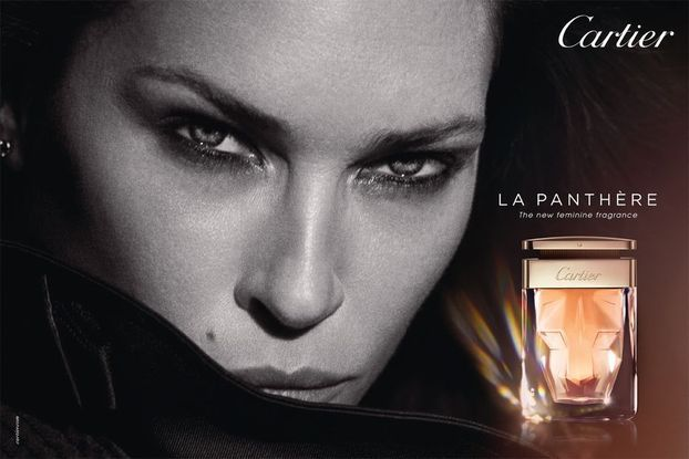Erin Wasson by Peter Lidbergh for Cartier La Panthere Fragrance