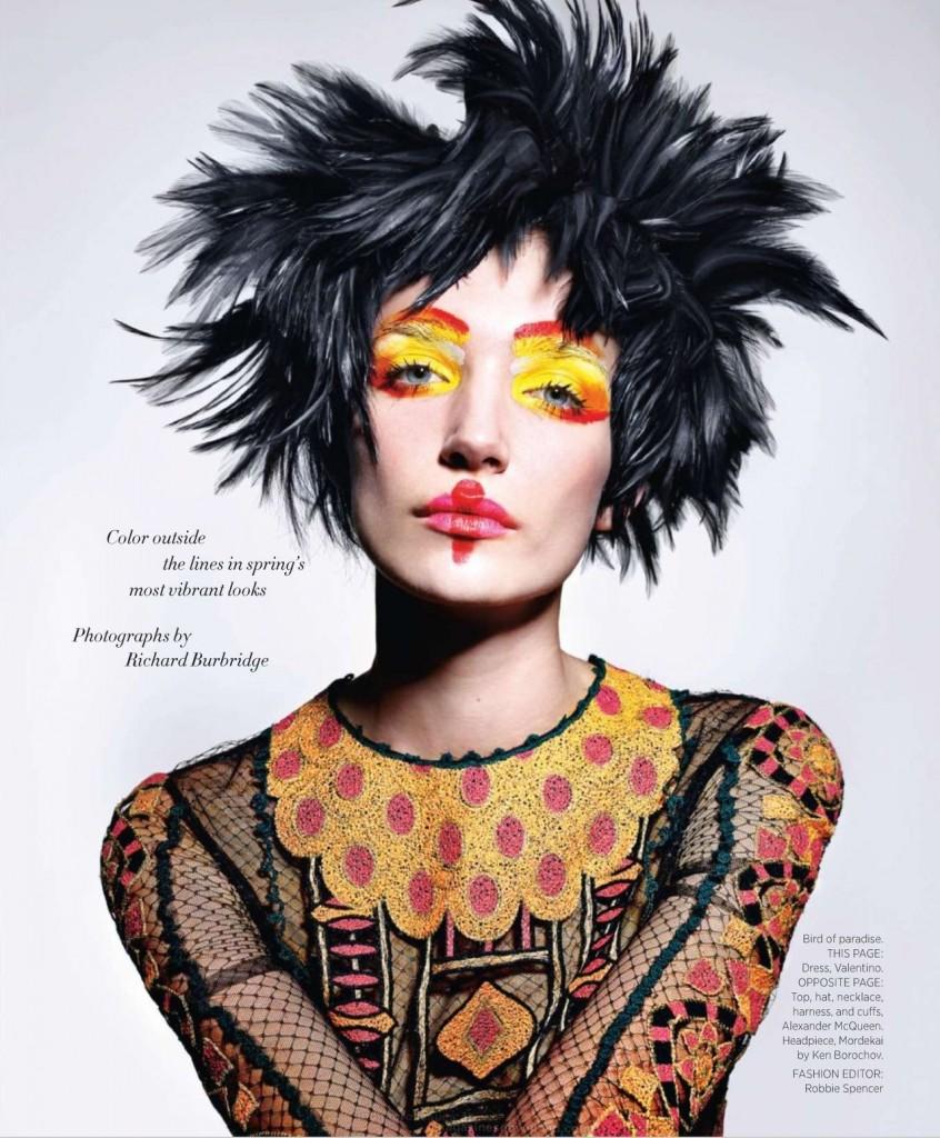 Janice Alida by Richard Burbridge for Harper's Bazaar US March 2014 (2)