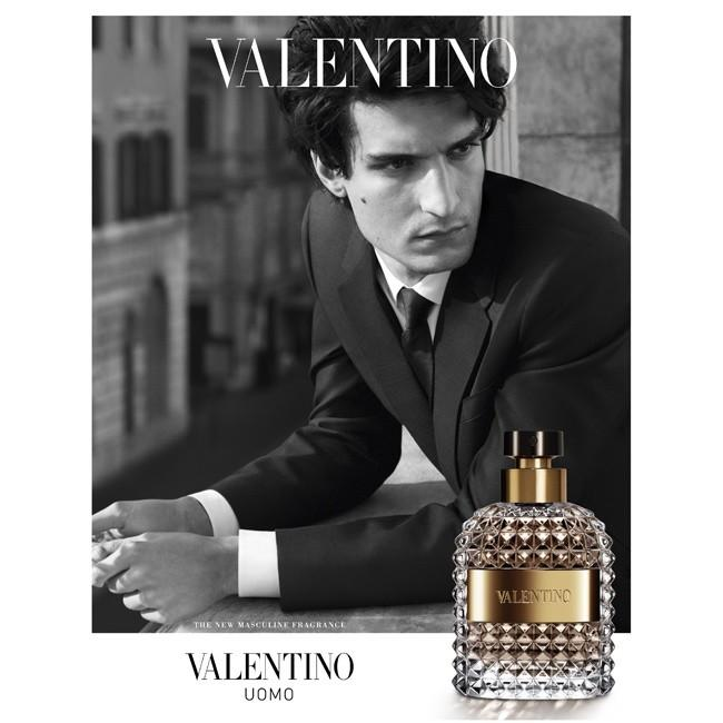 Louis Garrel  by David Sims valentino uomo fragrance
