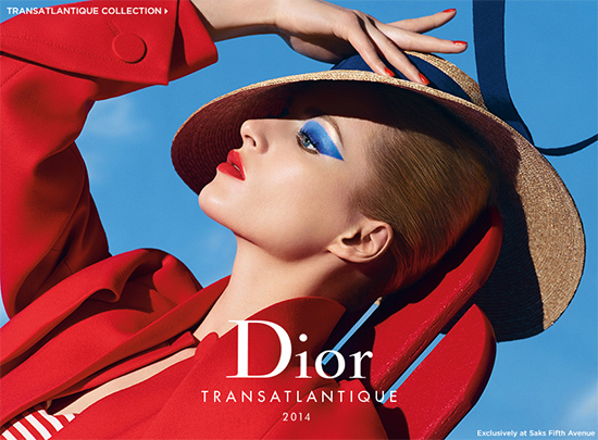 Dior Transatlantique Collection for Saks for Summer 2014 (1)