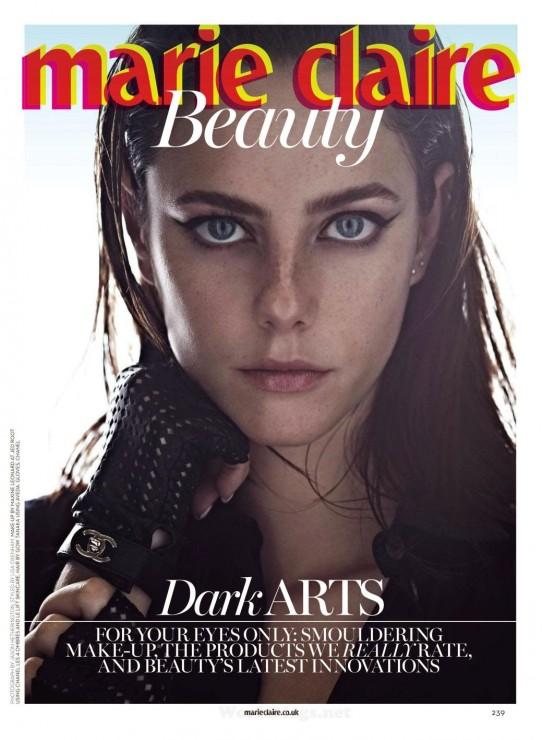 Kaya Scodelario by Jason Hetherington for Marie Claire UK April 2014