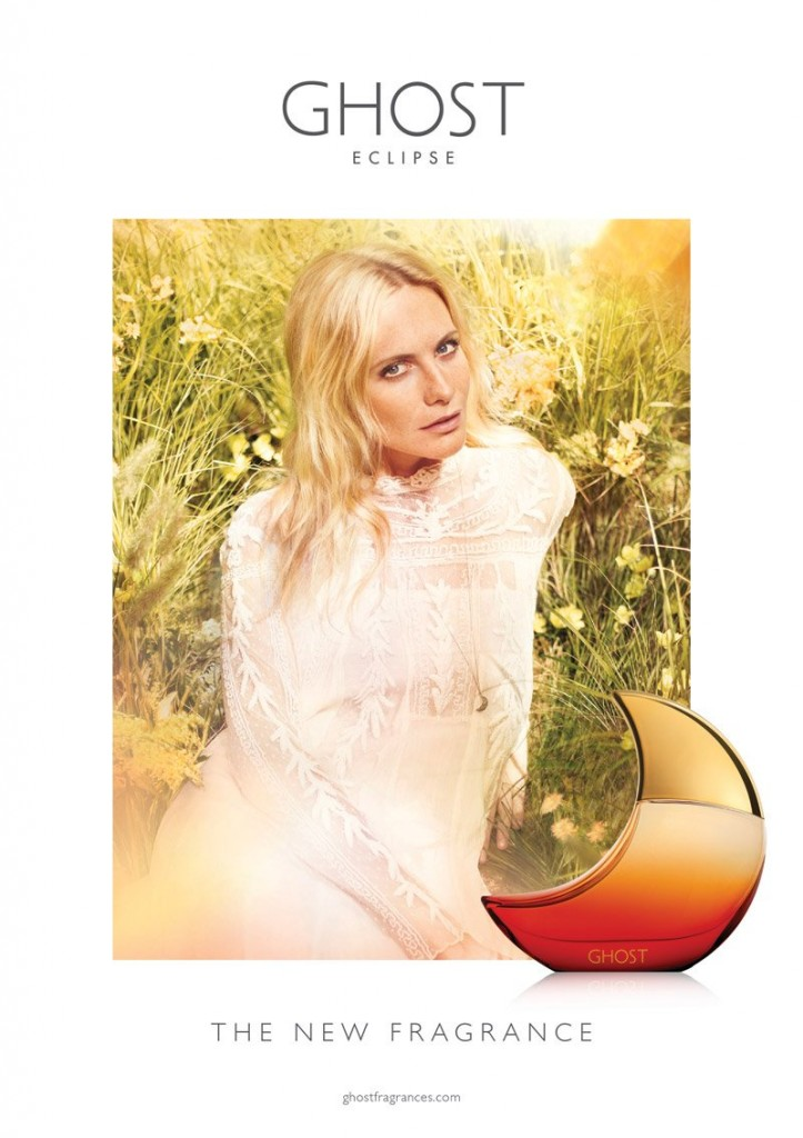 Poppy Delevingne for Ghost Eclipse Fragrance Campaign