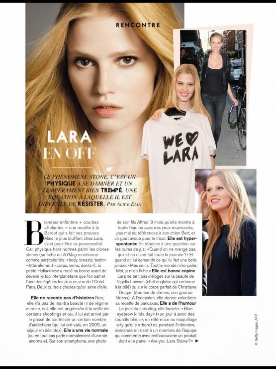 Lara Stone by Nico  2014 (11)
