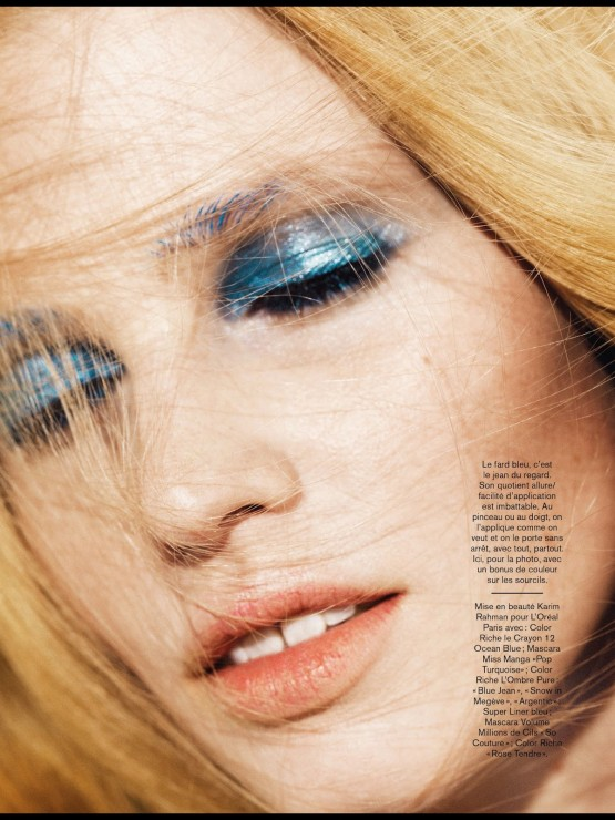 Lara Stone by Nico  2014 (3)