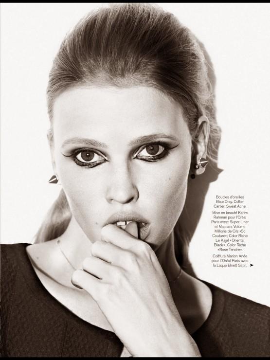 Lara Stone by Nico  2014 (4)