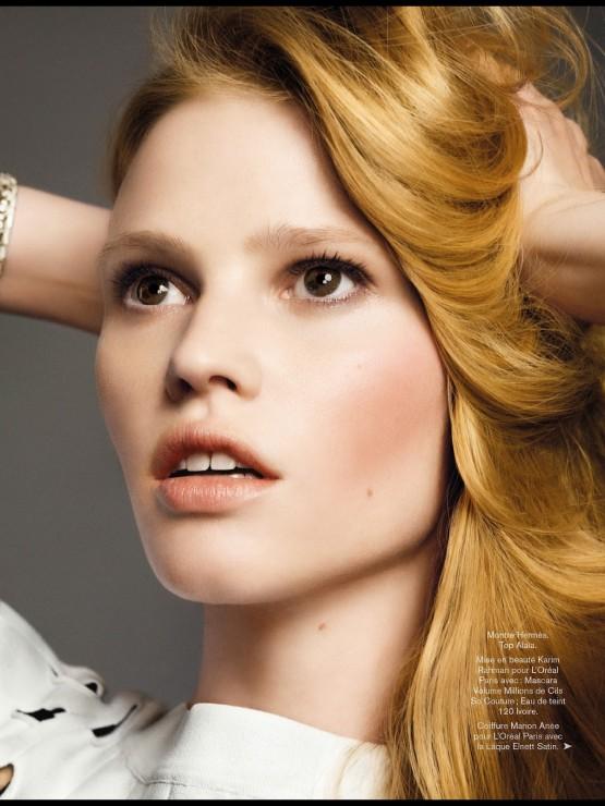 Lara Stone by Nico  2014 (6)