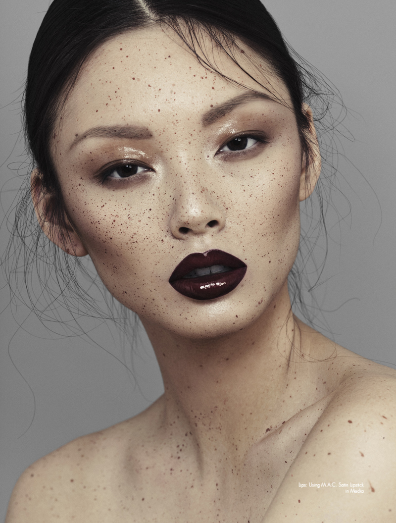 Beauty Make Up: Speckled By Alex Evans For Chloe Magazine