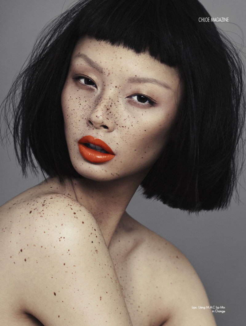 Makeup Tumblr: Speckled By Alex Evans For Chloe Magazine