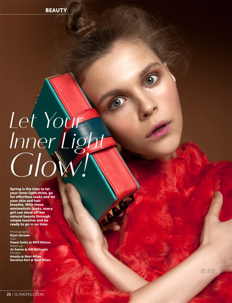 Let Your Inner Light Glow by Ryan Jerome For Glamoholic