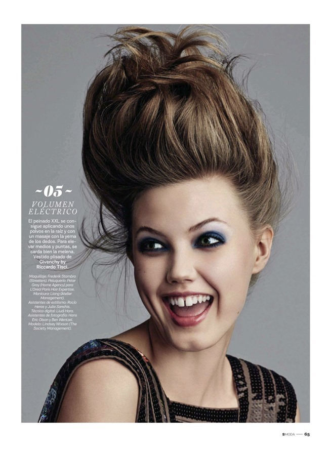 Lindsey Wixson for S Moda 5