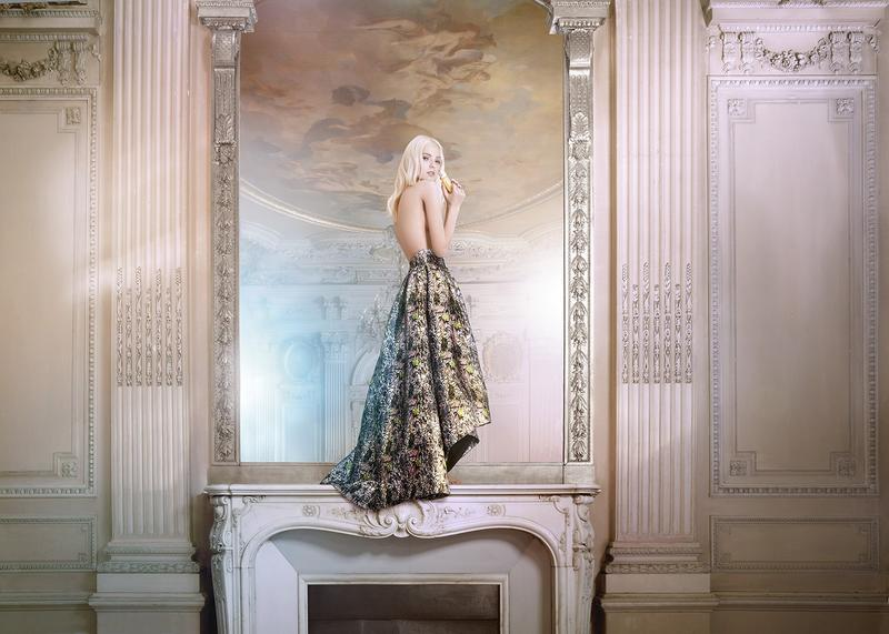 Sasha Luss by Ryan McGinley for Dior Addict (2)