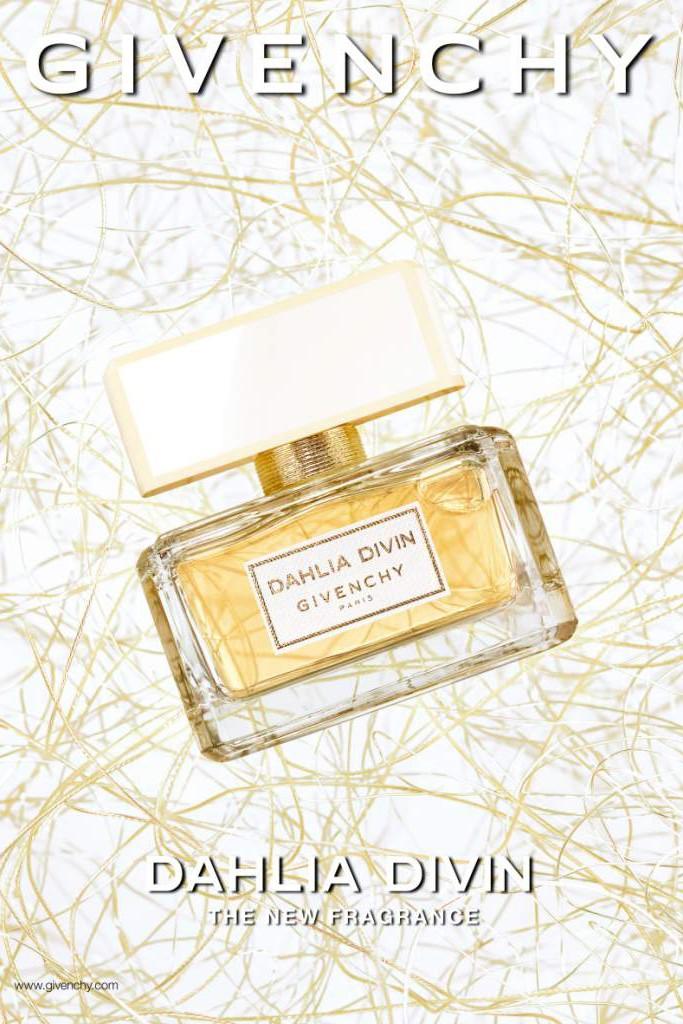Alicia Keys for Givenchy Dahlia Divin Fragrance 02