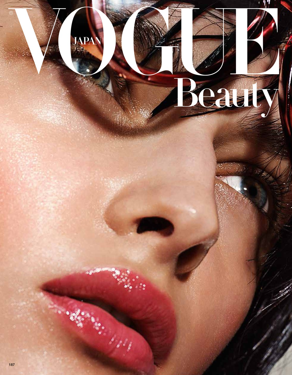 Daga Ziober VOGUE JAPAN BEAUTY 01
