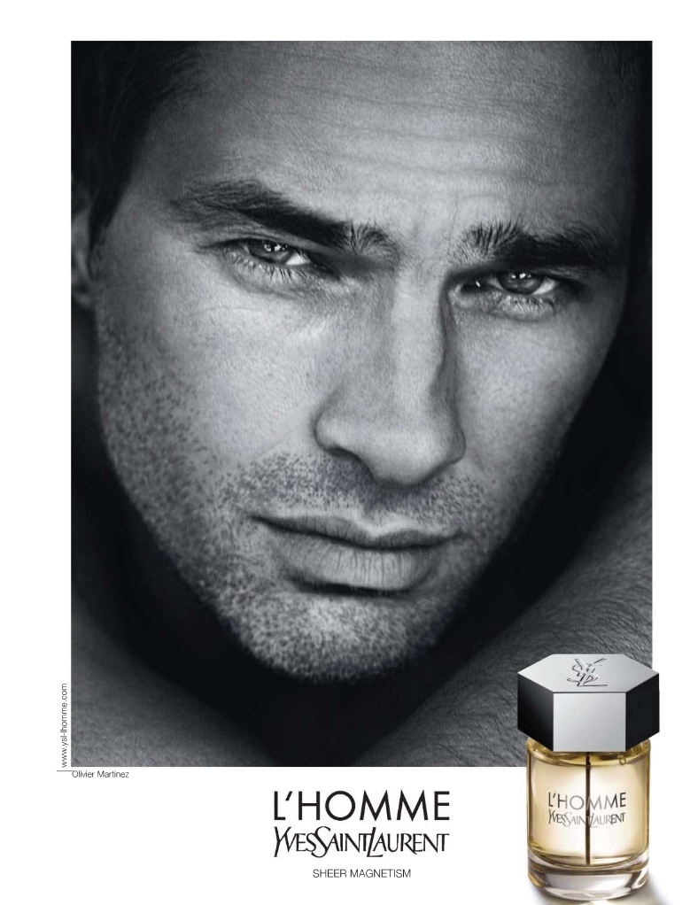 L'HOMME by Yves Saint Laurent featuring Olivier Martinez 02