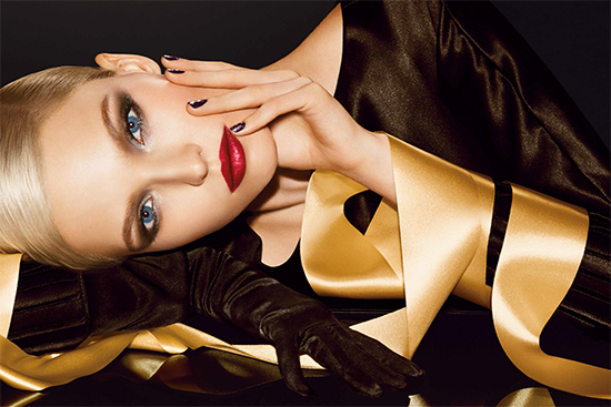 Dior golden shock holiday collection