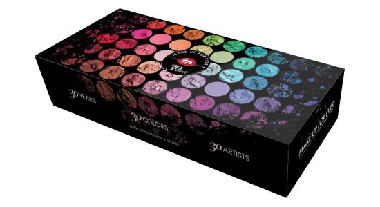 Make Up For Ever 30 Years 30 Colors 30 Artists Palette (2)