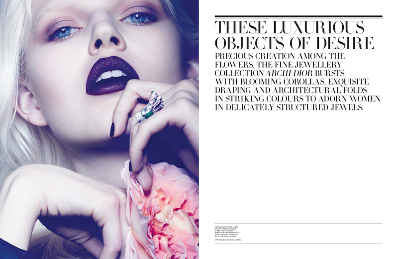 Ola Rudnicka for Dior Magazine 01