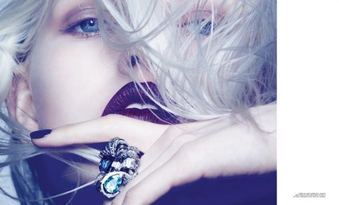 Ola Rudnicka for Dior Magazine 04