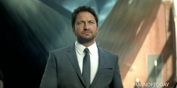 gerard butler hugo boss bottled man of today