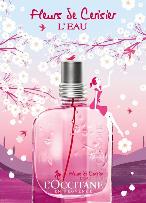 L`Occitane en Provence Fleurs de Cerisier L`Eau