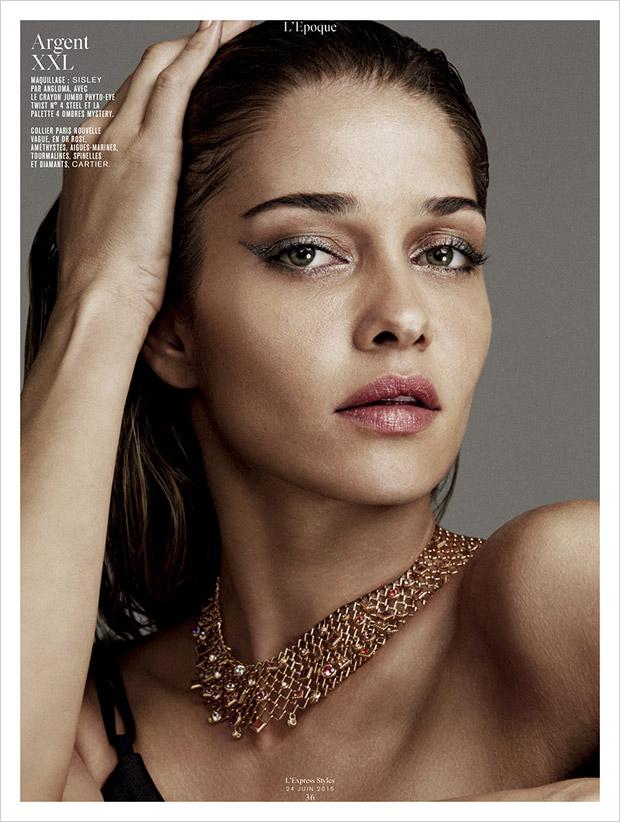 Ana Beatriz Barros for L'Express Styles by Alvaro Beamud ...