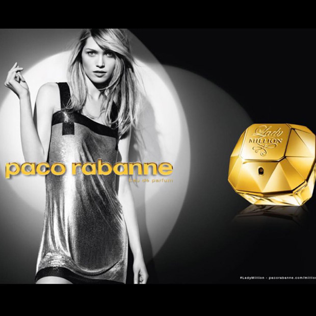 f8d5721347 Top model Hana Jirickova stars in Paco Rabanne Lady Million fragrance  campaign + video captured by fashion photographer Gregory Harris.