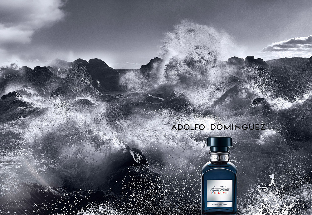 wouter peelen for adolfo dominguez agua fresca extreme