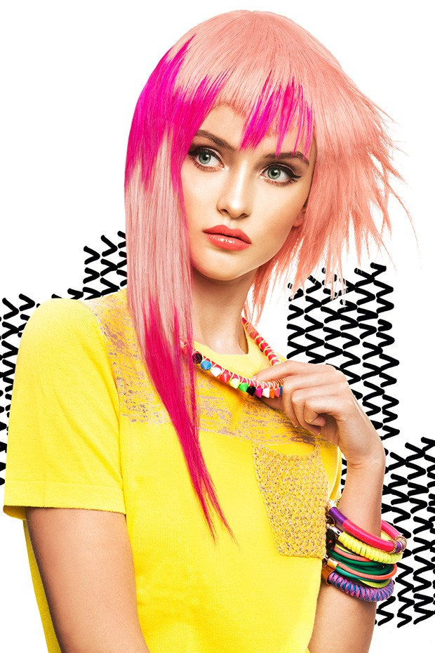 Color Blaze By Marta Macha For Hair Trendy Magazine